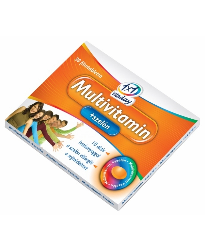1x1 Vitaday Multivitamin+Szelén Tabletta 30 db