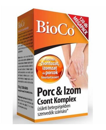 BioCo PorcIzom Csont Komplex 120 db