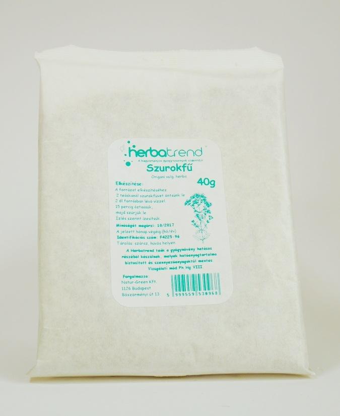 Herbatrend Szálas Zacskós Szurokfű tea 40 g