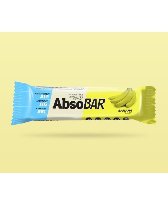 AbsoBar fehérjeszelet banános 74 g
