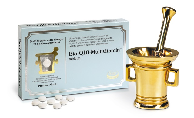 Bio-Quinone Q10 Multivitamin tabletta, 60 db