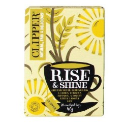 CLIPPER BIO RISE & SHINE TEA 20 DB FILTER