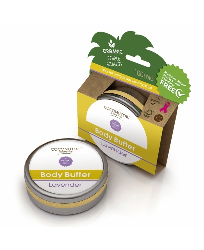 Coconutoil Body Butter - Testvaj 100 ml