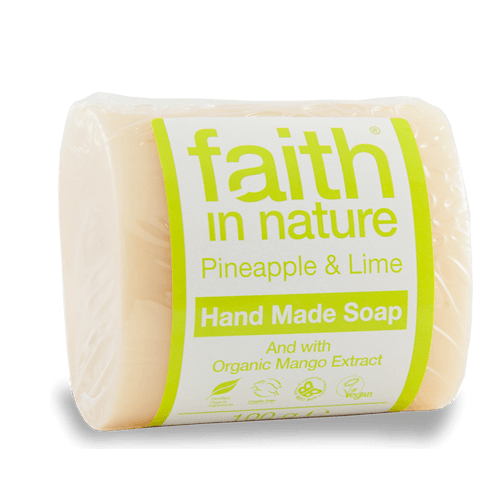 FAITH IN NATURE SZAPPAN ANANÁSZ-LIME 100 G