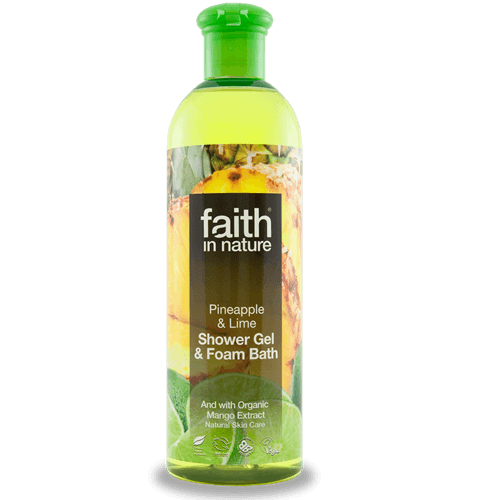 FAITH IN NATURE TUSFÜRDŐ ANAN.-LIME 400 ML