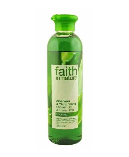 Faith In Nature tus- és habfürdő aloe 250 ml