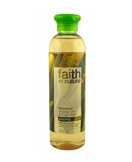 Faith in Nature Tus-és Habfürdő Hínár 250 ml