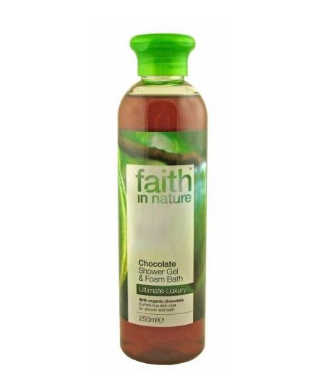 Faith In Nature tus- és habfürdő kakaó 250 ml