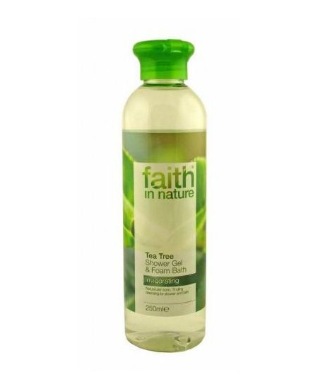 Faith In Nature tus- és habfürdő teafa 250 ml