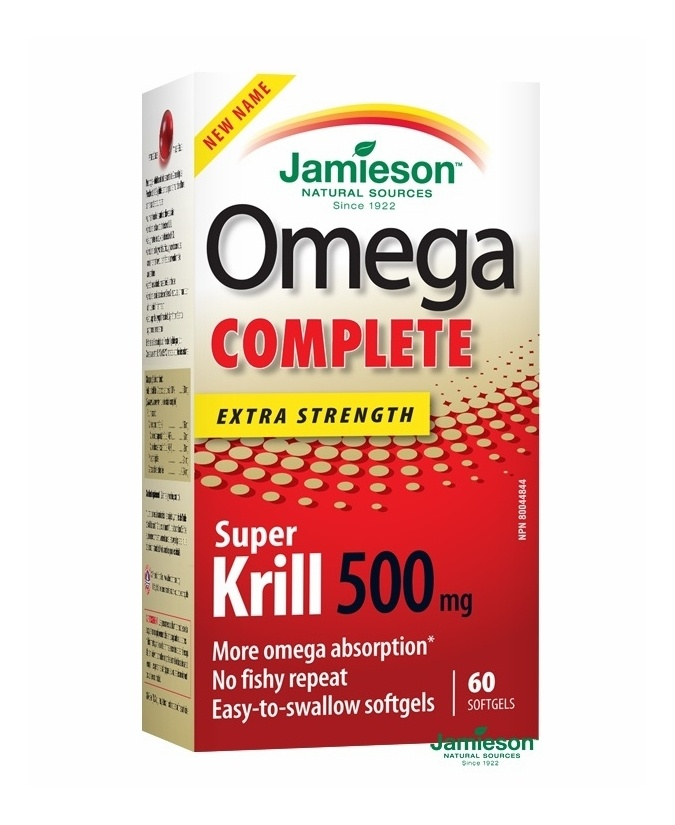 Jamieson Omega Complete Super Krill 500 mg 60 db