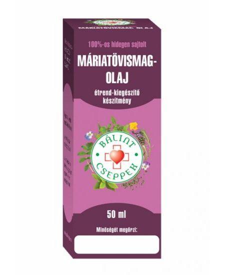 Bálint Cseppek Máriatövismag-olaj 50 ml