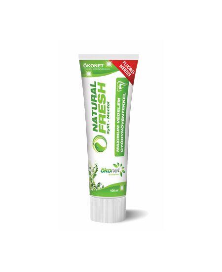 Biocom Natural Fresh Fogkrém Xylitol-Mentol 100 ml