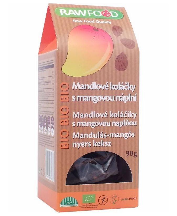 Raw Food Bio Tiger Nuts Mangós Keksz 90 g