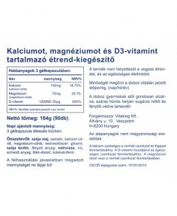 Vitaking Calmag Citrát+D-vitamin 90 db