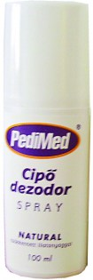PEDIMED CIPŐDEZODOR SPRAY NATUR 100 ML