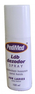 PEDIMED LÁBDEZODOR SPRAY NŐI 100 ML