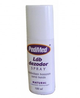 PEDIMED LÁBDEZODOR SPRAY NATUR 100 ML