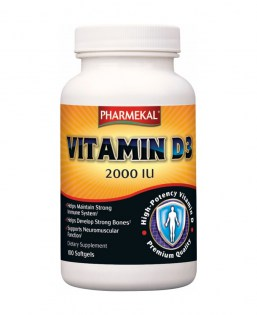 Pharmekal D3 vitamin 2000 NE 100 db