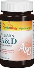 Vitaking A és D vitamin 60 db