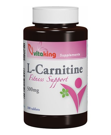 Vitaking L-carnitine 500 mg 100 db